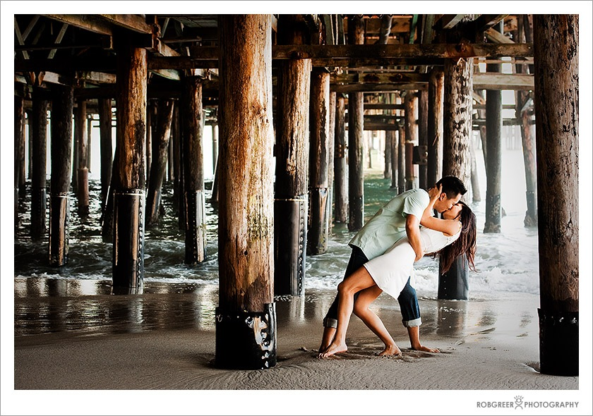 Santa Monica Wedding Photographer Pacific Park Pier