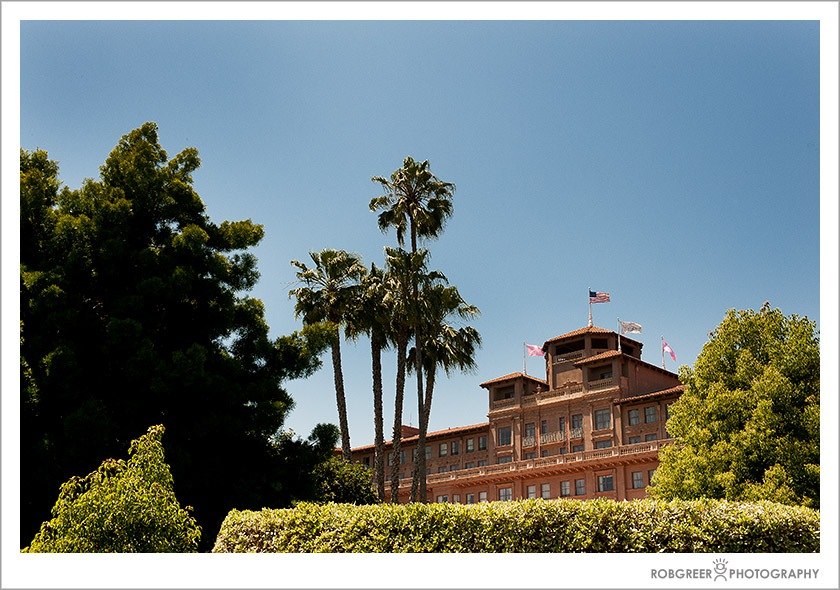 Wedding at the Langham Hotel in Pasadena, California